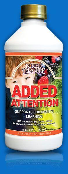 ADD ATTENTION CHILD FORM
