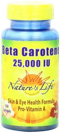 BETA CAROTENE 25,000