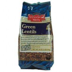 LENTILS GREEN ORG