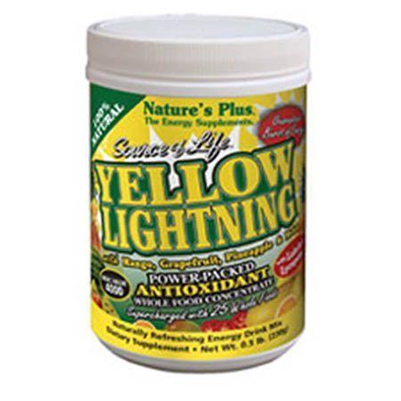 YELLOW LIGHTNING PWDR 180 GRM