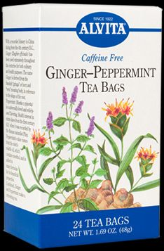 GINGER/PEPPERMINT ORG