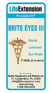 BRITE EYE III LUBRICANT TWIN PK
