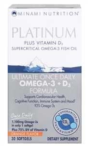 OMEGA 3 + D3 PLATINUM 1100mg